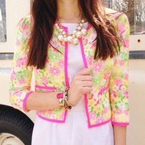 Lilly Pulitzer Nelle Floral Jacket
